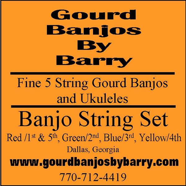 New banjostring set label